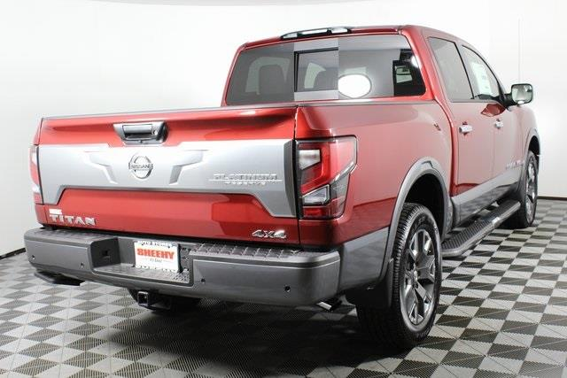 2020 Nissan Titan Crew Cab, Pickup #D504606 - photo 1