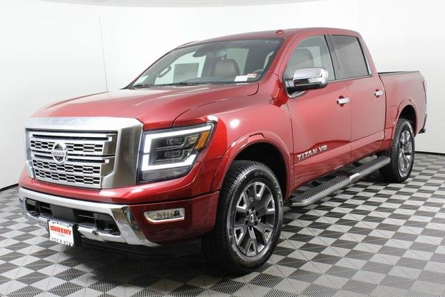 2020 Nissan Titan Crew Cab, Pickup #D511974 - photo 5