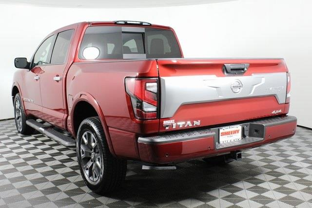2020 Nissan Titan Crew Cab, Pickup #D511974 - photo 6