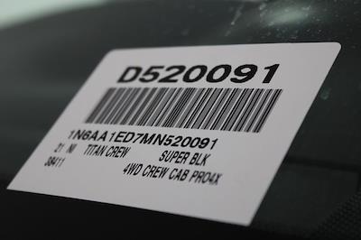 2021 Nissan Titan 4x4, Pickup #D520091 - photo 34