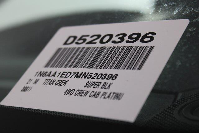 2021 Nissan Titan 4x4, Pickup #D520396 - photo 38