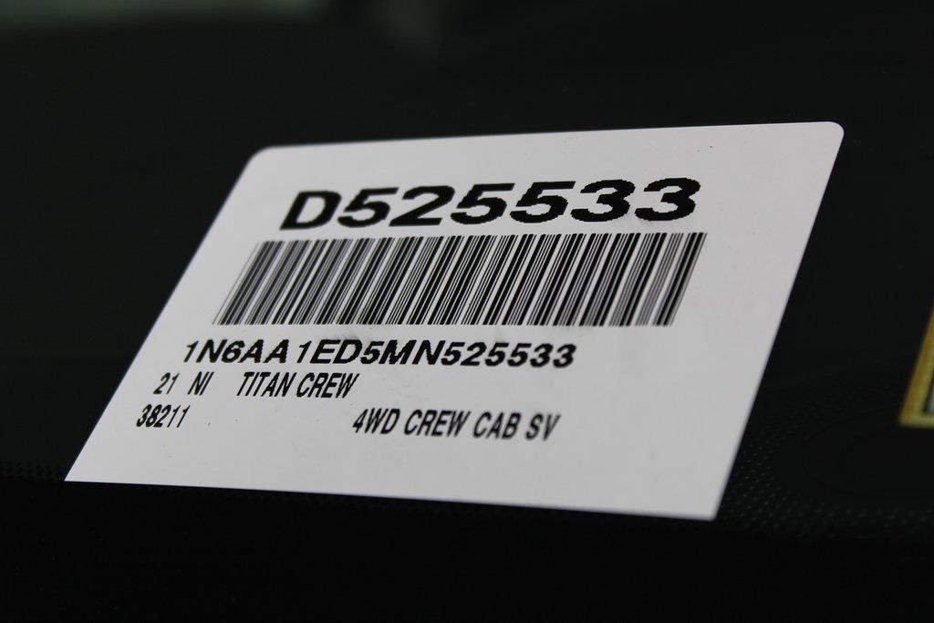 2021 Nissan Titan 4x4, Pickup #D525533 - photo 30