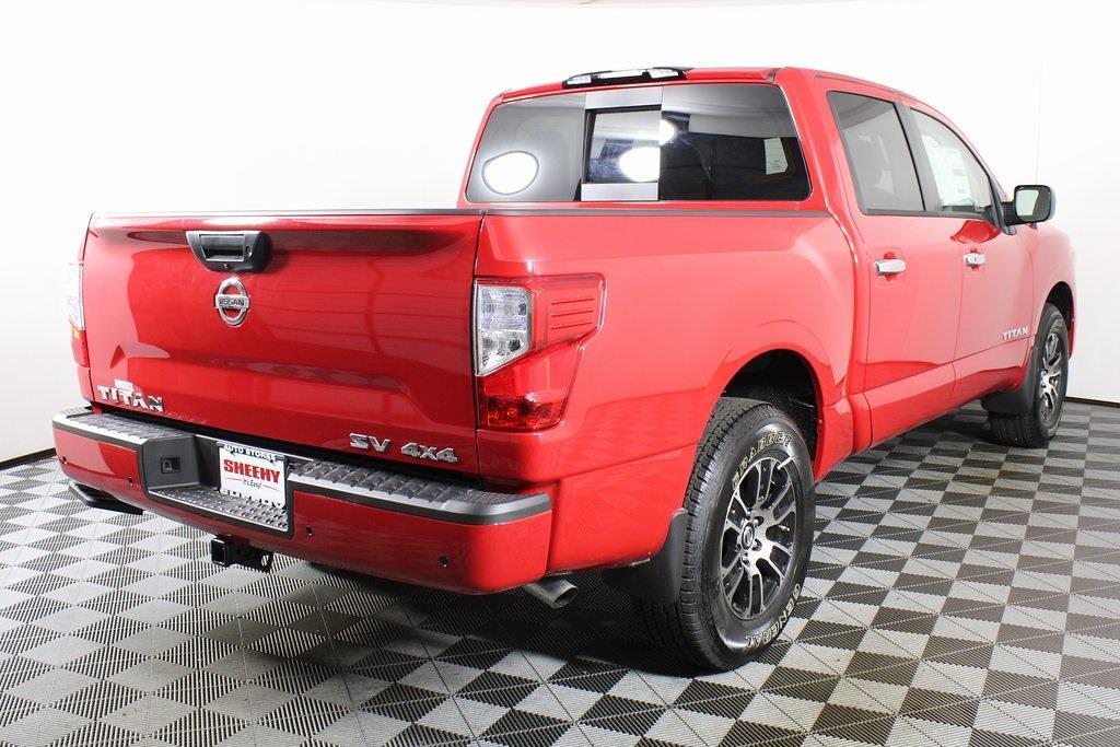 2021 Nissan Titan 4x4, Pickup #D525533 - photo 1