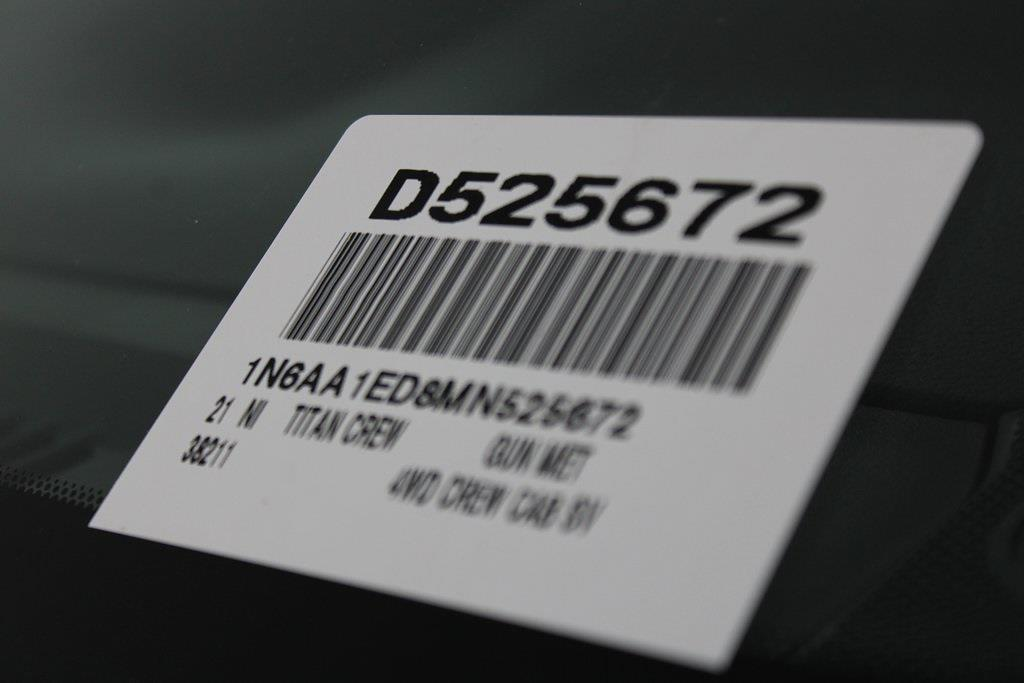 2021 Nissan Titan 4x4, Pickup #D525672 - photo 30