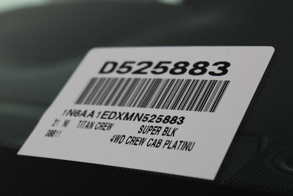 2021 Nissan Titan 4x4, Pickup #D525883 - photo 34