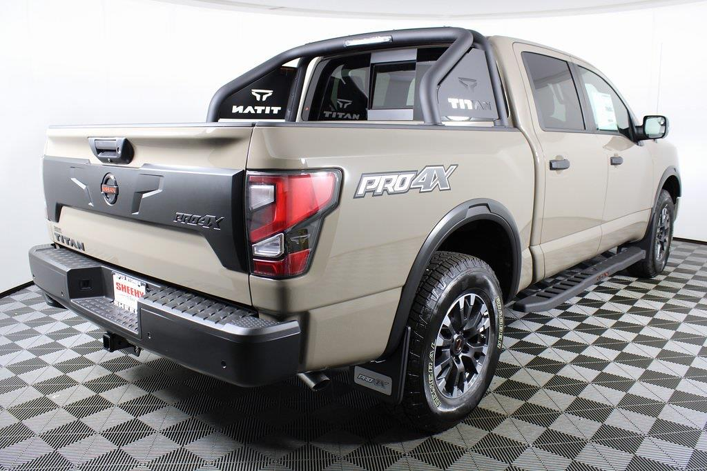 2021 Nissan Titan 4x4, Pickup #D527428 - photo 1
