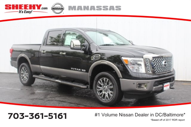 2018 Titan XD Crew Cab,  Pickup #D535759 - photo 1
