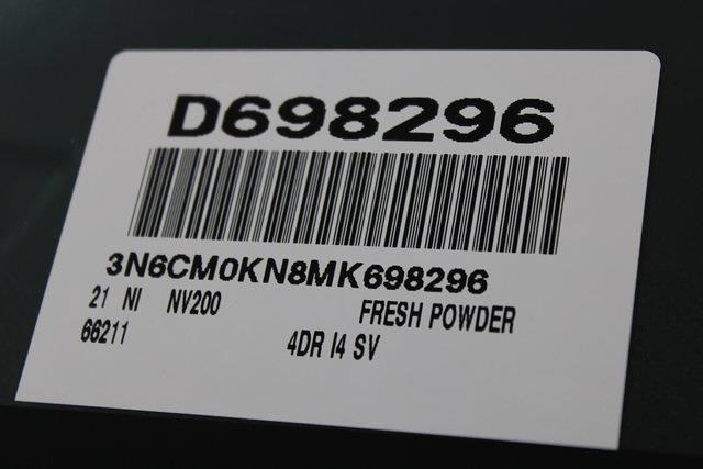 2021 Nissan NV200 4x2, Empty Cargo Van #D698296 - photo 26