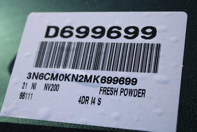 2021 Nissan NV200 4x2, Empty Cargo Van #D699699 - photo 26