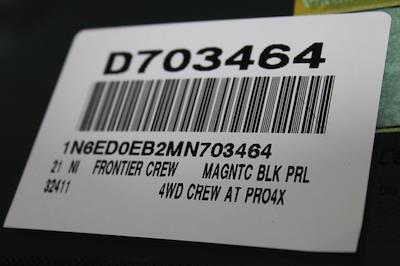 2021 Nissan Frontier 4x4, Pickup #D703464 - photo 30