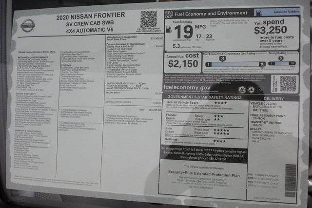 2020 Nissan Frontier Crew Cab 4x4, Pickup #D708275 - photo 31