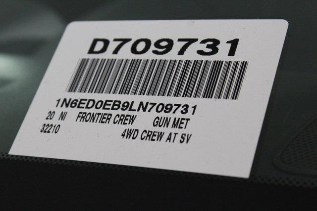 2020 Nissan Frontier Crew Cab 4x4, Pickup #D709731 - photo 21