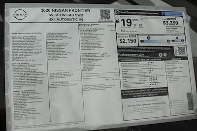 2020 Nissan Frontier Crew Cab 4x4, Pickup #D710204 - photo 27