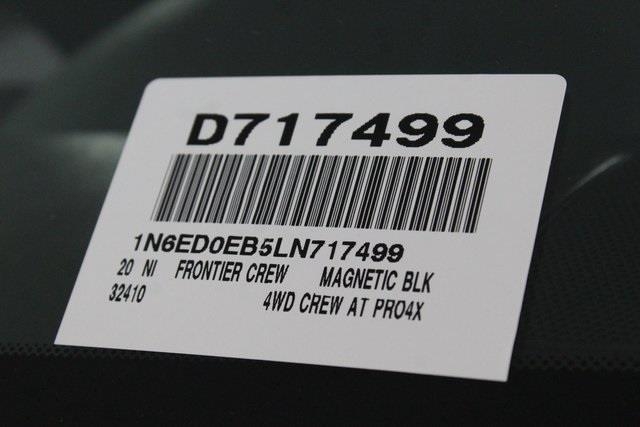 2020 Nissan Frontier Crew Cab 4x4, Pickup #D717499 - photo 30