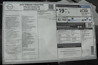 2020 Nissan Frontier Crew Cab 4x4, Pickup #D717499 - photo 31