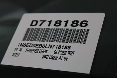 2020 Nissan Frontier Crew Cab 4x4, Pickup #D718186 - photo 26