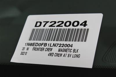 2020 Nissan Frontier Crew Cab 4x4, Pickup #D722004 - photo 27