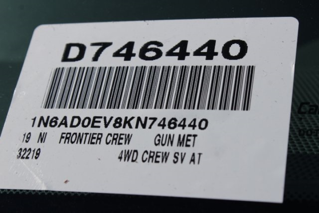 2019 Frontier Crew Cab 4x4,  Pickup #D746440 - photo 26