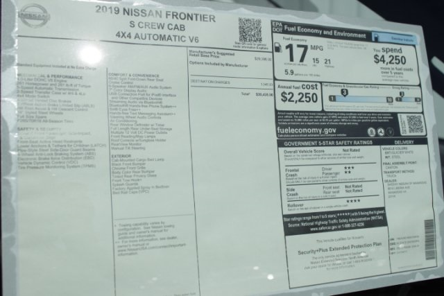 2019 Frontier Crew Cab 4x4,  Pickup #D754456 - photo 26