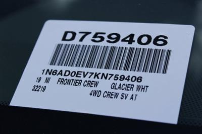 2019 Frontier Crew Cab 4x4,  Pickup #D759406 - photo 27