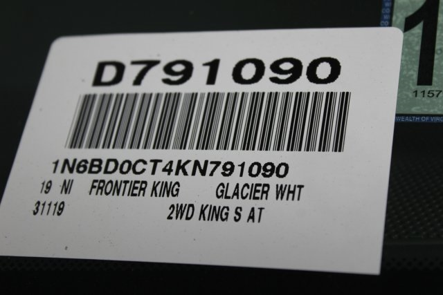 2019 Frontier King Cab 4x2,  Pickup #D791090 - photo 28