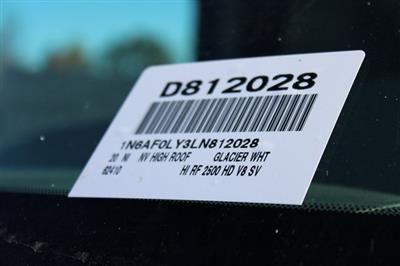 2020 Nissan NV2500 High Roof 4x2, Empty Cargo Van #D812028 - photo 31