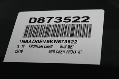 2019 Frontier Crew Cab 4x4, Pickup #D873522 - photo 30
