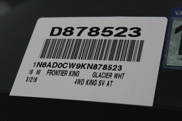2019 Frontier King Cab 4x4, Pickup #D878523 - photo 33