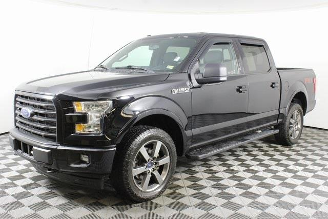 2017 Ford F-150 SuperCrew Cab 4x4, Pickup #DGP9284 - photo 2