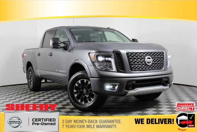 2019 Nissan Titan Crew Cab 4x4, Pickup #DP13623 - photo 1