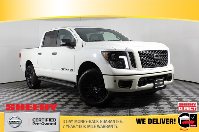 2018 Nissan Titan Crew Cab, Pickup #DP13657A - photo 1
