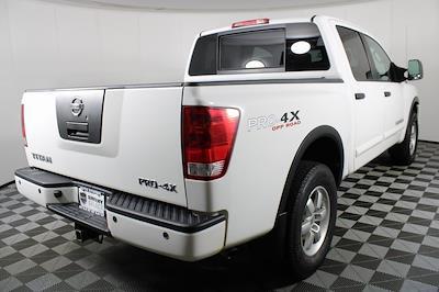 2011 Nissan Titan Crew Cab 4x4, Pickup #DX25200A - photo 8