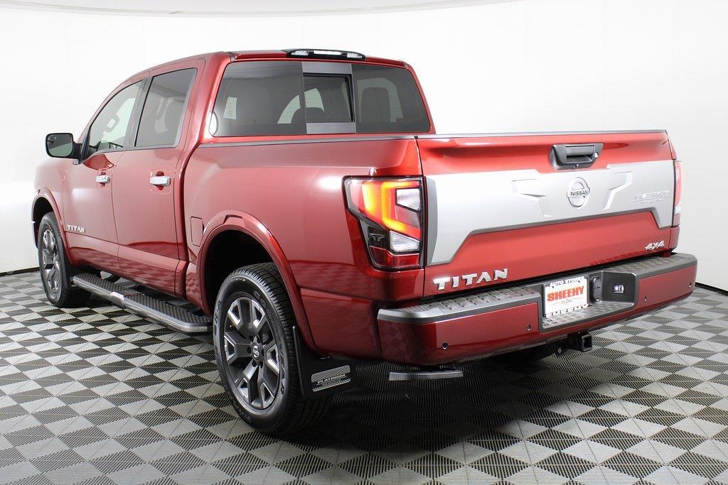 2021 Nissan Titan 4x4, Pickup #DX505079 - photo 4