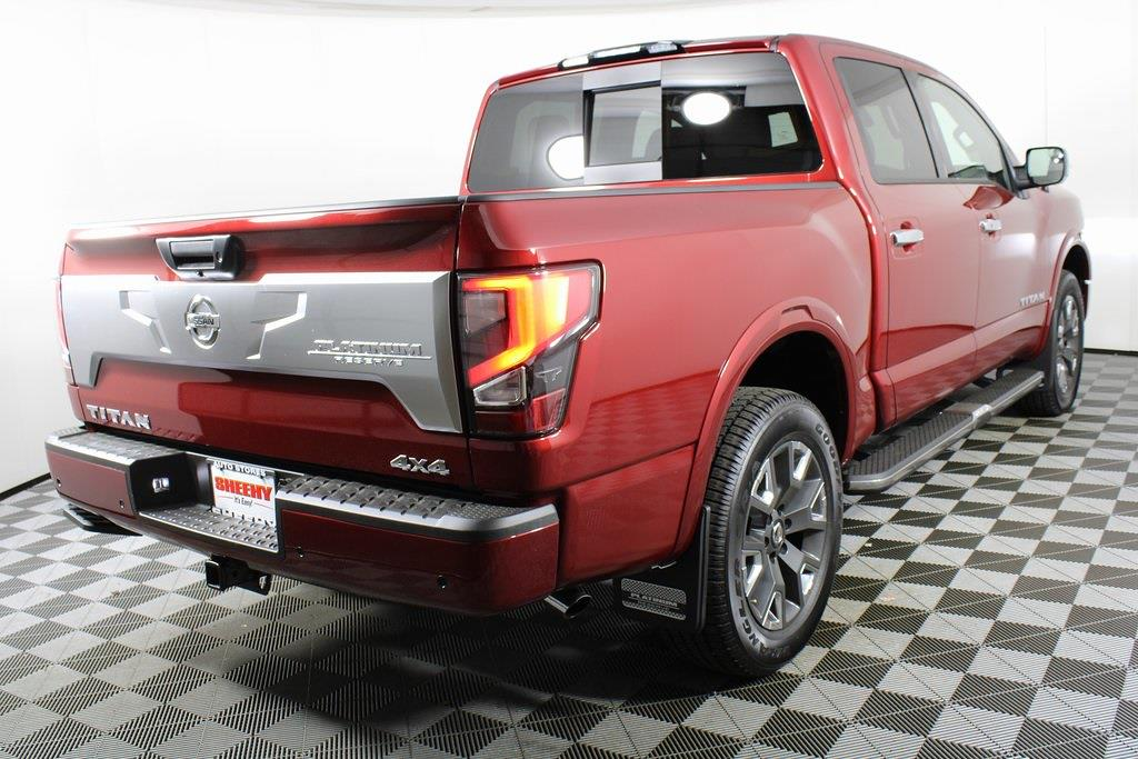 2021 Nissan Titan 4x4, Pickup #DX505079 - photo 37