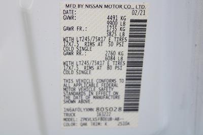2021 Nissan NV3500 4x2, Empty Cargo Van #DX805028 - photo 33