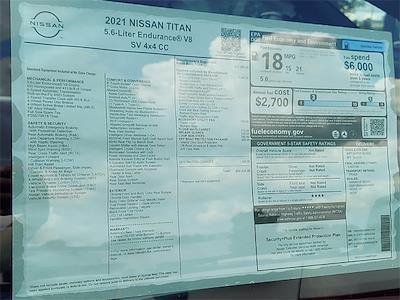 2021 Nissan Titan 4x4, Pickup #K517145 - photo 6