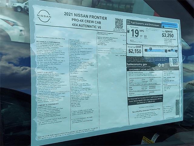 2021 Nissan Frontier 4x4, Pickup #K707244 - photo 8