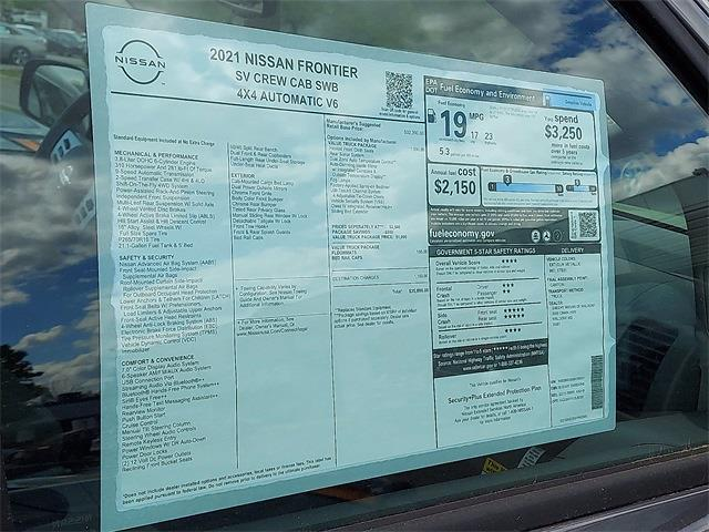 2021 Nissan Frontier 4x4, Pickup #K708931 - photo 8