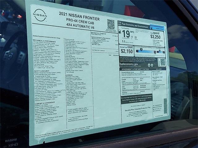 2021 Nissan Frontier 4x4, Pickup #K712054 - photo 8