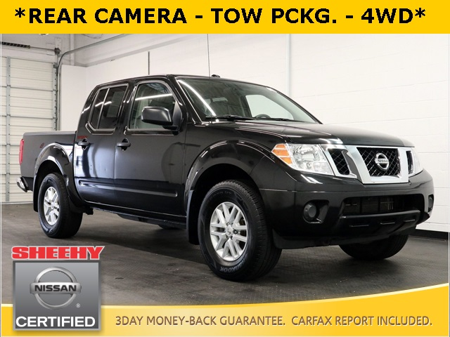 2018 Nissan Frontier Crew Cab 4x4, Pickup #KR8011 - photo 1