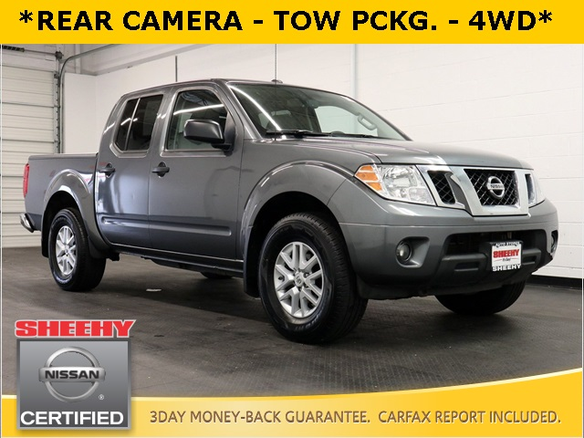 2017 Nissan Frontier Crew Cab 4x4, Pickup #KR8016 - photo 1