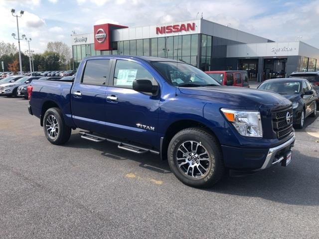 2021 Nissan Titan 4x4, Pickup #U502614 - photo 1