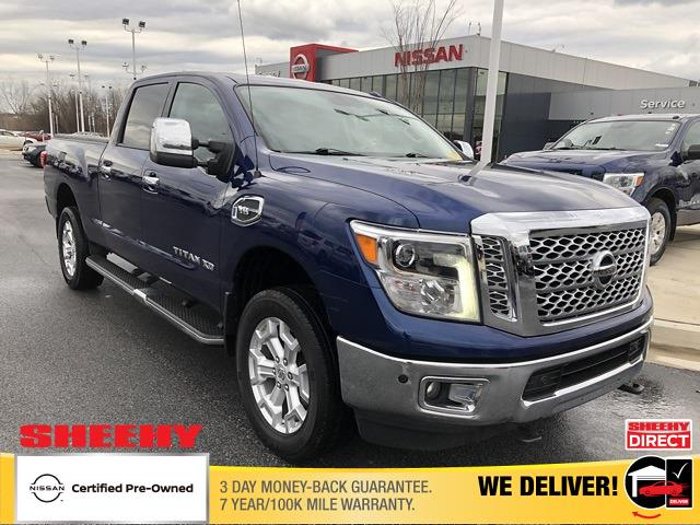 2017 Nissan Titan XD Crew Cab, Pickup #U641290A - photo 1