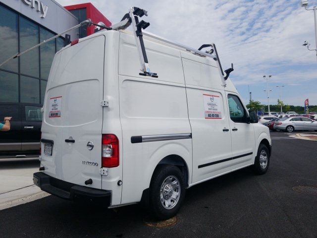 2019 NV2500 High Roof 4x2,  Adrian Steel Base Shelving Upfitted Cargo Van #U803279 - photo 9