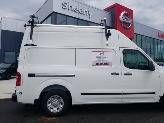 2019 NV2500 High Roof 4x2,  Adrian Steel Base Shelving Upfitted Cargo Van #U803279 - photo 12