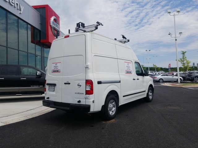 2019 NV2500 High Roof 4x2,  Adrian Steel Base Shelving Upfitted Cargo Van #U803279 - photo 4