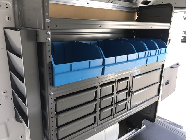 2019 NV2500 Standard Roof 4x2,  Adrian Steel Commercial Shelving Upfitted Cargo Van #U803743 - photo 12