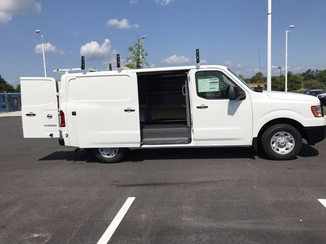 2019 NV2500 Standard Roof 4x2,  Adrian Steel Commercial Shelving Upfitted Cargo Van #U803743 - photo 9