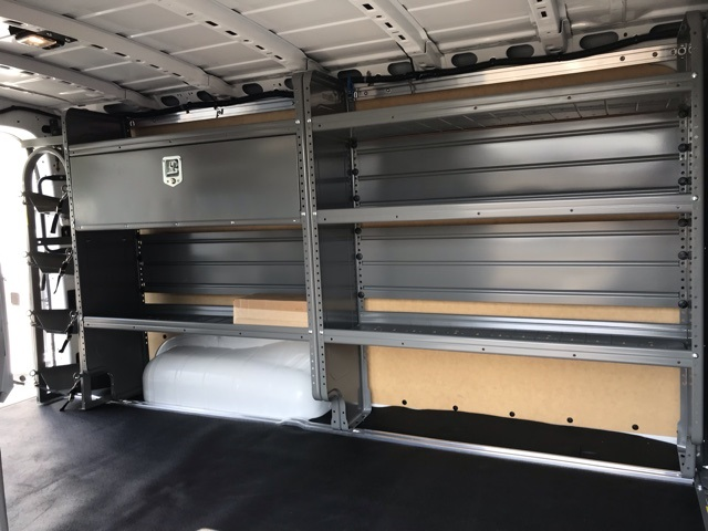 2019 NV2500 Standard Roof 4x2,  Adrian Steel Commercial Shelving Upfitted Cargo Van #U803743 - photo 10