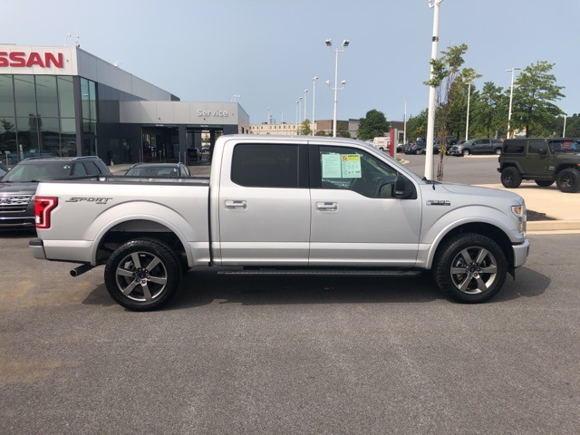 2017 Ford F-150 SuperCrew Cab 4x4, Pickup #UP3636 - photo 8